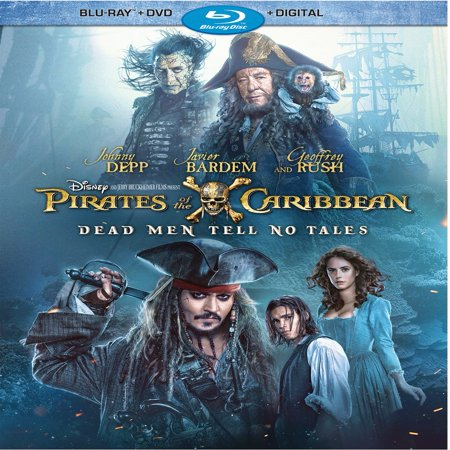 Pirates of the Caribbean: Dead Men Tell No Tales (Blu-ray + DVD + Digital HD) - Adult Pirate Movie