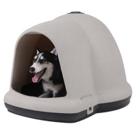 "Doskocil Dome Home Dog House, Large, 47""x39""x30"""