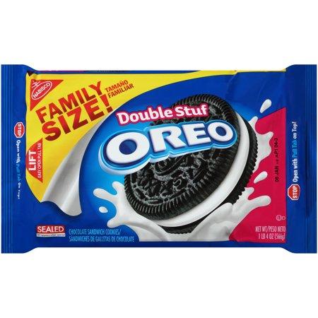 Nabisco Oreo Double Stuf Cookies Family Size, 20 Oz.