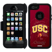USC Watermark 1 Design on OtterBox Defender Series Case for Apple iPhone 5/5s