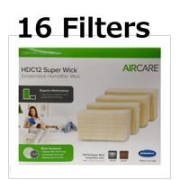 Aircare HDC12 Replacement Wicking Humidifier Filter Genuine, 16 Pack