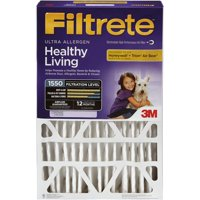 Filtrete Allergen Reduction Deep Pleat HVAC Furnace Air Filter, 1550 MPR, 20 x 25 x 4, 1 Filter