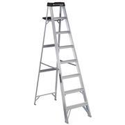 Louisville Ladder 8-Foot Aluminum Step Ladder, 250-Pound Capacity, Type I, W-2112-08S