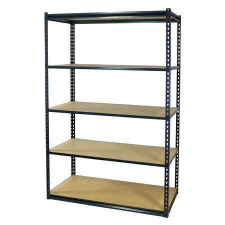 Heavy Duty Garage Shelving (Storage Max Garage Shelving Boltless, 36 x 12 x 72, Heavy Duty, 5 Shelves)