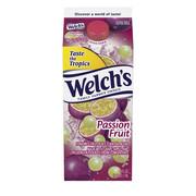 Welch's, Passion Fruit Flavored Fruit Juice Cocktail Blend, 59 Fl. Oz.