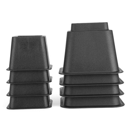 Ejoyous Lift Blocks,8pcs Bed Risers Set Chair Furniture Lift Blocks Elephant Feet,Furniture Raiser