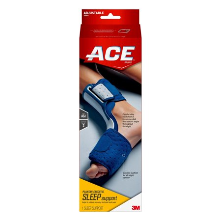 ACE Brand Plantar Fasciitis Sleep Support, Adjustable, Navy, 1/Pack