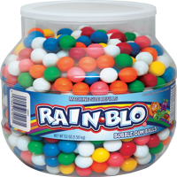 Rain-Blo, Assorted Candy Shelled Chewing Gum, 53 Oz