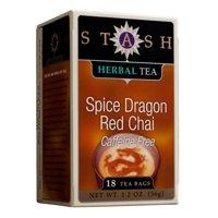 (3 Boxes) Stash Tea Spice Dragon Red Chai Herbal Tea, 18 Ct, 1.2 Oz