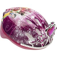 Bell Disney Princess 3D Tiara Bike Helmet, Pink, Child 5+ (50-54cm)