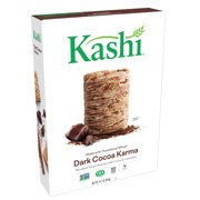 Kashi Non-GMO Breakfast Cereal, Dark Cocoa Karma, 16.1 Oz