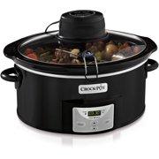 Crock-Pot iStir Automatic Stirring Slow Cooker, 6-Quart (SCCPVC600AS-B)