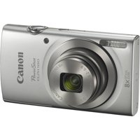 Canon PowerShot ELPH 180 Digital Camera (Silver)