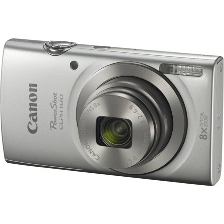 Canon Powershot Sx Series - Canon PowerShot ELPH 180 Digital Camera (Silver)