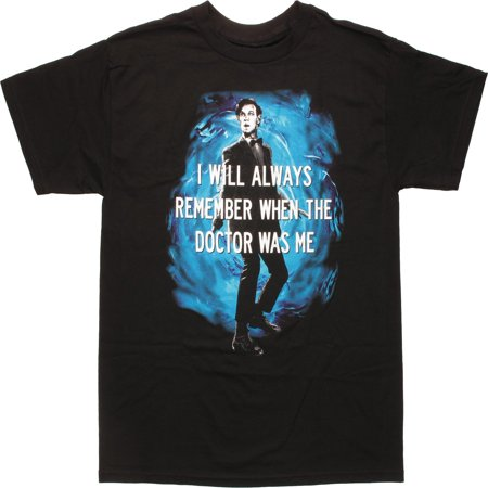 11th Dr Always Remember When T-Shirt - Dr Who Outfits