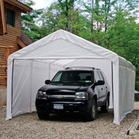 ShelterLogic Super Max 12' x 20' White Canopy Enclosure Kit