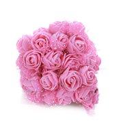 f84e1039f075 Foam Flowers -144pcs Colourfast Foam Artificial Rose Flowers Wedding Bride  Bouquet Party Decor Valentine s Day