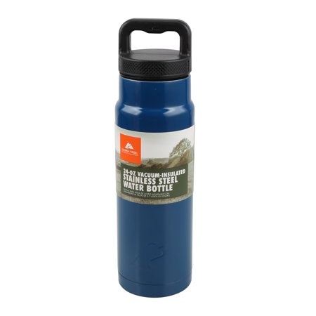 Mom Stainless Water Bottle - Ozark Trail 24oz Vacuum Insulated Stainless Steel Water Bottle