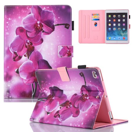 iPad mini 4th Generation Case, Allytech Ultra Slim Lightweight Protective Shockproof Multi Angle Stand Folio Auto Sleep Wake Smart Cover for Apple iPad mini 4 Model A1550 A1538, Purple
