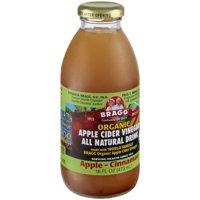 Bragg Organic Apple-Cinnamon Apple Cider Vinegar All Natural Drinks, 16 fl oz, 12 count