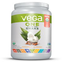 Vega One Organic All in One Shake, Coconut Almond 24.3 oz, 18 servings