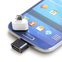 Micelec 2Pcs Micro USB Male to USB 2.0 Adapter OTG Converter for Android Tablet Phone