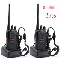 2 x Baofeng BF-888S UHF 400-470MHz 5W Two-way Ham Radio Walkie Talkie Long Range