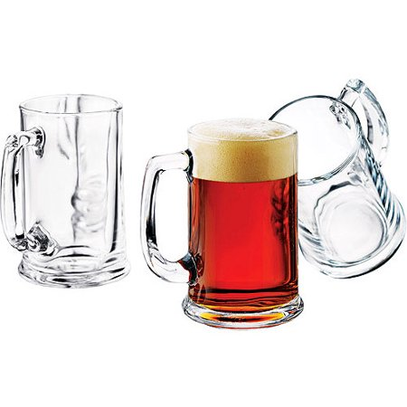 Libbey 15-oz. Brewmaster Beer Mugs, Set of - Golf Beer Mug
