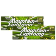 (2 Pack) Great Value Mountain Lightning Soda, 12 fl oz, 12 Count
