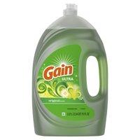 Gain Ultra Dishwashing Liquid Dish Soap, Original, 75 fl oz