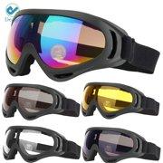 552ef5784e90 Deago Ski Snowboard Goggles UV Protection Anti-Fog Snow Goggles for Men  Women Youth