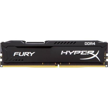 - HyperX FURY Memory Black 8GB 2400MHz DDR4 CL15 DIMM 1Rx8 HX424C15FB2/8