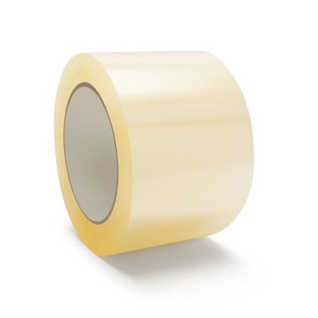 "3"" x 110 Yards (330 Feet) Clear Carton Sealing Tape, Packing and Shipping, 1.5 Mil Thick, Pack of 12 Rolls"