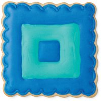 (4 Pack) Wilton Scalloped Square Metal Cookie Cutter