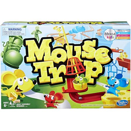 Classic Mouse Trap Family Board Game, for Ages 6 and up - Board Game Family