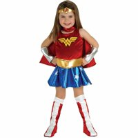 Wonder Woman Toddler Halloween Costume, Size 3T-4T