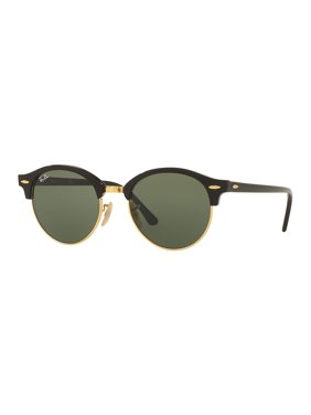 Ray-Ban Unisex RB4246 Clubround Classic Sunglasses, 51mm