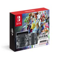 Nintendo Switch Super Smash Bros Ultimate Edition Bundle