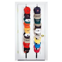 TSV 2Pcs Baseball Cap Hat Holder Rack Storage Organizer Over the Door HangerHolders