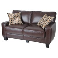 """Serta RTA Palisades Collection 61"""" Loveseat, Multiple Colors"""