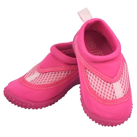 Iplay Baby Girls Sand and Water Swim Shoes Kids Aqua Socks for Babies, Infants, Toddlers, and Children Hot Pink Size 7 / Zapatos De Agua - Converse For Toddler