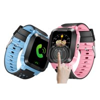 Smart Watch For Kids With Camera Flash Night Light Touch Screen Anti-lost Alarm Compatible For IOS Android