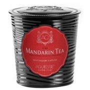 MANDARIN TEA Tin 11oz Aquiesse Portfolio  Scented Soy Candle