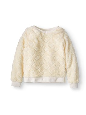 Plush Minky Sweatshirt (Big Girls)