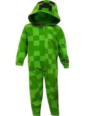 Product Image Minecraft Creeper Blanket Sleeper Pajama With Hood a04b8c550