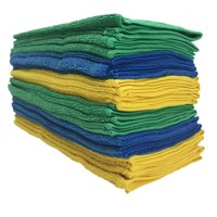 Viking Microfiber Auto Cleaning Cloth, 24 Pack Towels