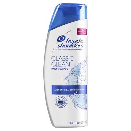 Head and Shoulders Classic Clean Daily-Use Anti-Dandruff Shampoo, 8.45 fl oz Anti Aging Protectant Shampoo