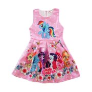 7cbe85655 Wenchoice Girls Pink My Little Pony Friends Forever A-Line Dress
