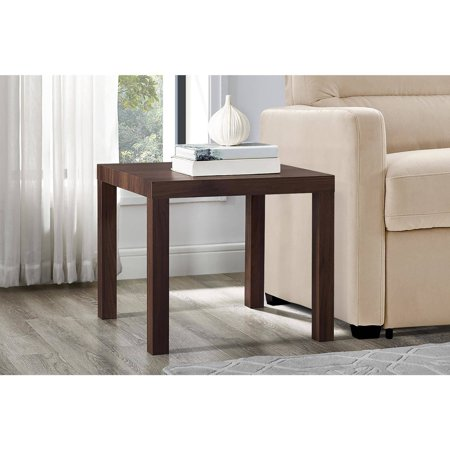 Mainstays Parsons Square End Table, Multiple Colors (Scale End)