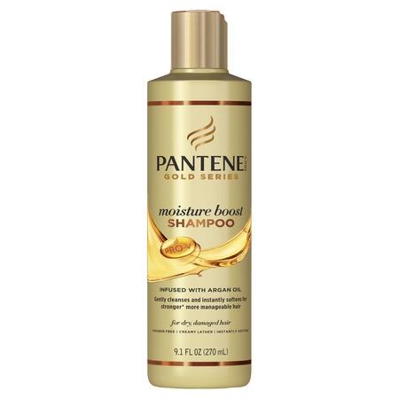 Pantene Pro-V Gold Series Moisture Boost Shampoo, 9.1 fl